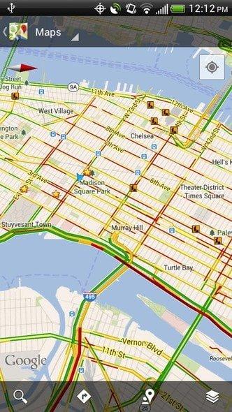 12-googlemap-mobile-Trafic-Layer