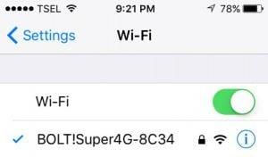 Activer et désactiver Wifi à partir du commutateur