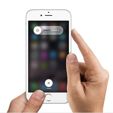 Redémarrer l'iPhone ou iPad