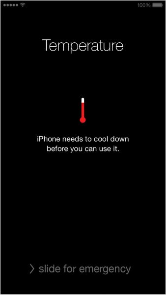 chauffez votre iPhone