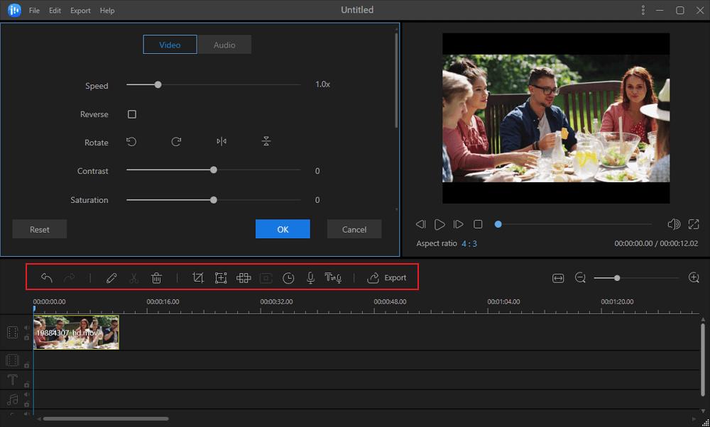 Editer la vidéo