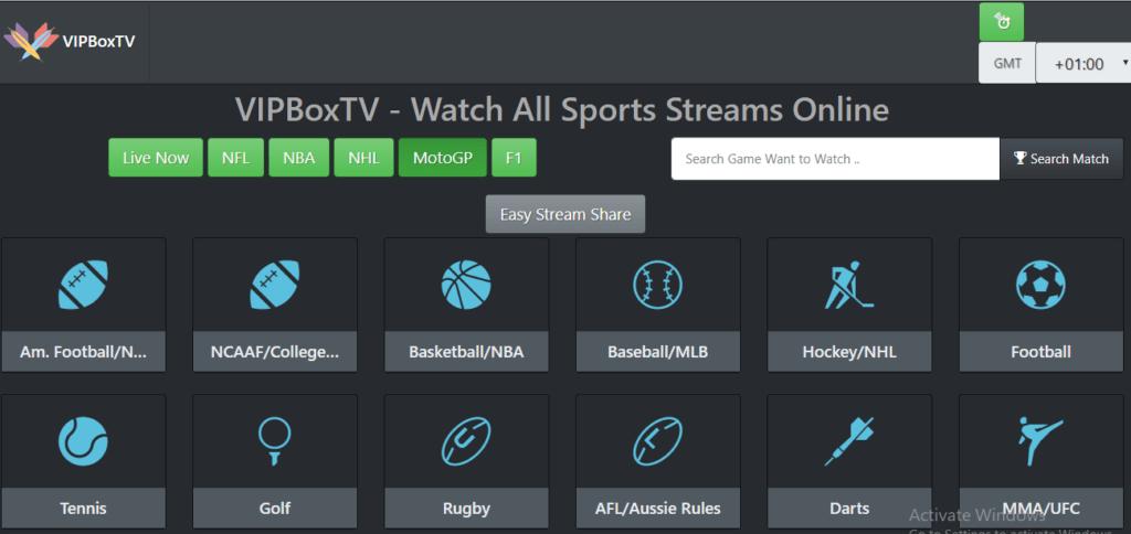 VIPBox TV, alternative à FirstRowSports
