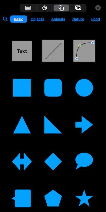 Application Keynote pour créer des vidéos carrées