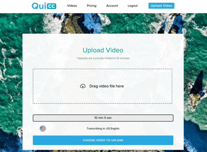 Quicc pour créer des vidéos carrées
