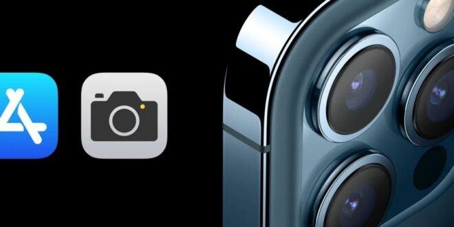 Applications retouche iPhone