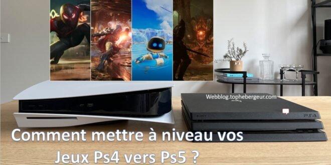 jeux ps4 vers ps5