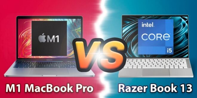 MacBook Pro M1 vs Razer Book 13