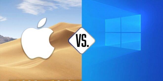 Comparatif PC vs Mac