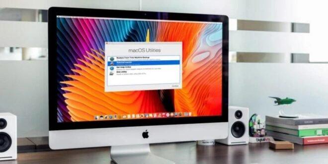 Reintialiser mac