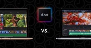 Comparatif Macbook air M1 et Macbook Pro
